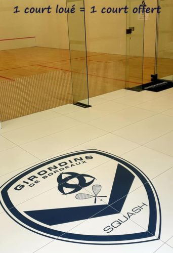 Location court de squash à Bordeaux Mérignac - Domaine de Rocquevielle