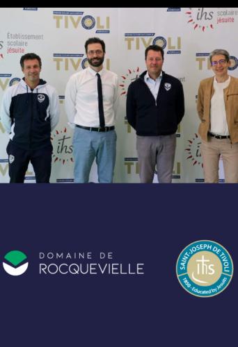 Nouvelle étape dans le partenariat avec l'ensemble scolaire Saint-Joseph de Tivoli et le Domaine de Rocquevielle