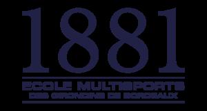 Logo école multisports 1881 Girondins de Bordeaux Omnisports